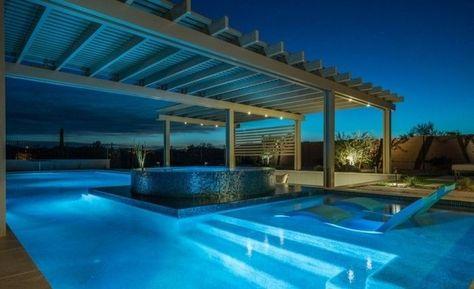 160 Tolle Bilder Von Luxus Pool Im Garten Outdoor Structures Outdoor Decor Pergola