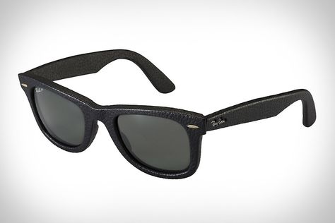 92d0e8f7f91ad Ray-Ban Wayfarer Leather Sunglasses. Hands down my favorite shades