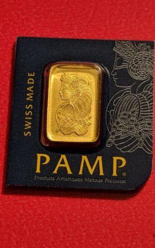1 Gram Pamp Suisse Gold Bar Silver Bars Gold Bar Gold