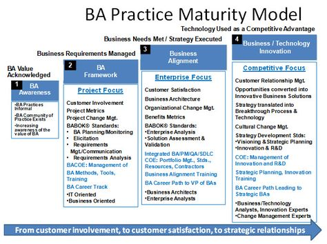 Business Analysis Maturity Model  Biz Analysis    Business