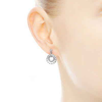 orecchini donna pandora cerchi