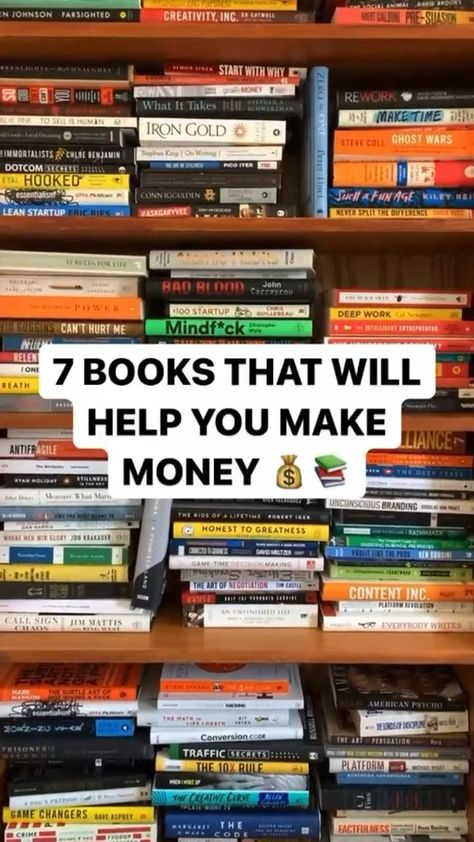 books that will help you make money