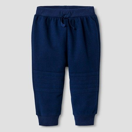 Baby Girls' Solid Jogger Pant Baby Cat & Jack™ - Blue : Target