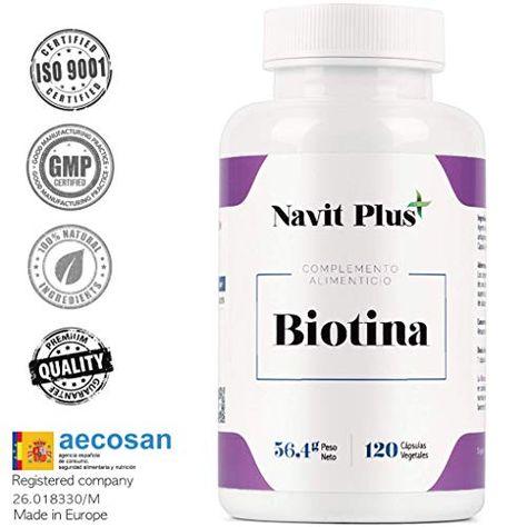 Biotina 10000mcg Vitaminas De Biotina Pura Para Fortalecer Y