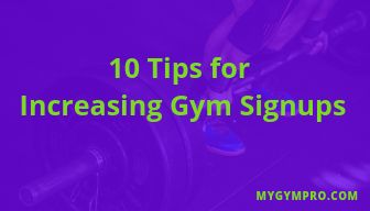 How To Increase Gym Sign Ups My Gym Pro Gym Planet Fitness Workout Yoga Place