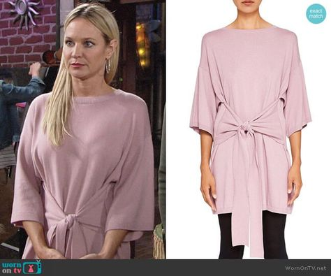 0e88ed55b6f Ted Baker Ted Says Relax Olympy Tie-Front Knit Tunic | Saw it, Liked ...