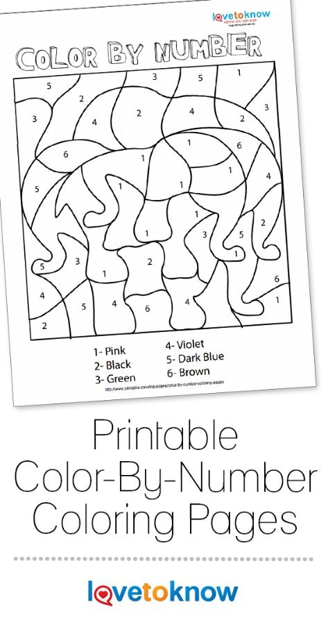 Color By Number Coloring Pages Lovetoknow Coloring Pages Disney Coloring Pages Craft Activities For Kids