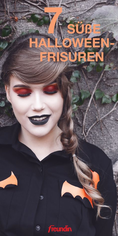 7 Süße Halloween Frisuren So Feiern Wir Halloween Pinterest