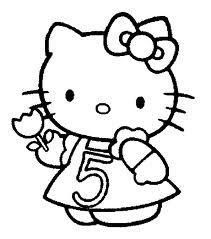 Kleurplaten Van Hello Kitty Zoeken.Kleurplaat 5 Jaar Google Zoeken Kleurplaten En 5 Jaar