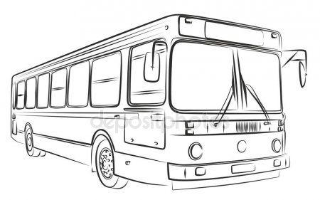 Desenho De Onibus Onibus Desenho Desenhos Adesivos Para Caminhoes