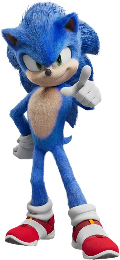 Sonic Movie Render by Sonic-Ray on DeviantArt