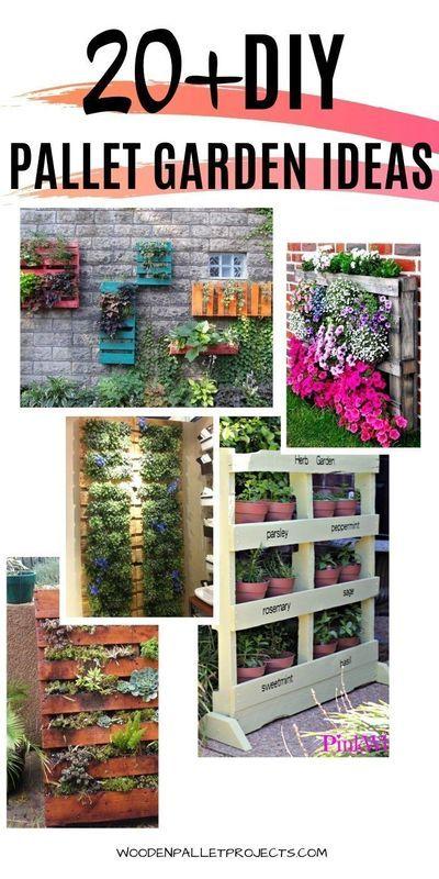 Amazing Diy Pallet Garden Ideas Pallet Projects Garden Pallets Garden Herb Garden Pallet
