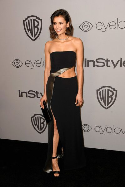 Actor Nina Dobrev attends the 19th Annual Post-Golden Globes Party hosted by Warner Bros. Pictures and InStyle.