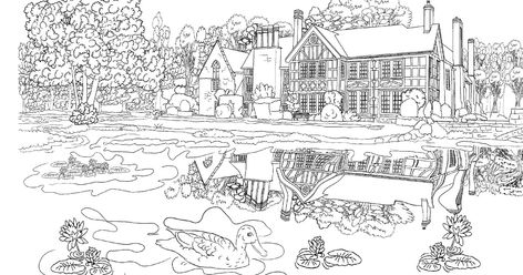 Beautiful Scenery Colouring Pages Coloring Pages Nature Image Result For Mountain Landscape Col In 2020 Coloring Pages Nature Easy Coloring Pages Free Coloring Pages