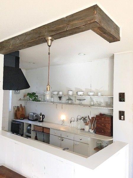 キッチンからの景色が全然違う 吊り戸棚を完全撤去する大掛かりなdiy