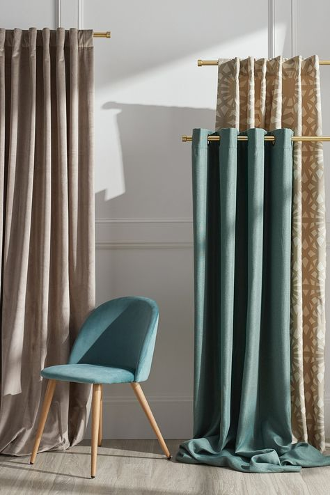 Beautiful Curtains and Drapes for Every Window in Your Home