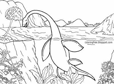 Coloring Page Base Dinosaur Coloring Pages Ocean Coloring Pages