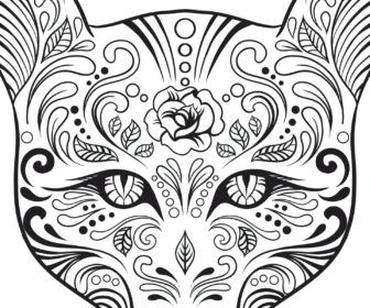 Cat Coloring Pages For Adults Coloring Pages Siamese Cat Coloring