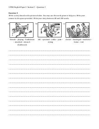 Upsr 2017 Compilation English 014 Section C Q2 In 2020 English Paper English Student