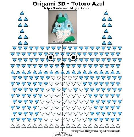 How to Make an Origami Envelope Tutorial - Easy DIY Totoro Origami ... | 480x471