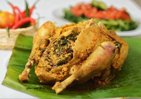 Resep Ayam Betutu Oleh Susi Agung Resep Resep Ayam Resep Masakan Masakan