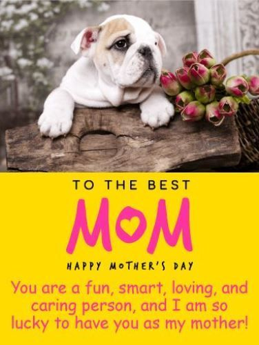 Happy Mothers Day Quotes From Son Daughter Mothers Day Greetings Funny For Mothers I Am Happy Mother Day Quotes Mothers Day Quotes Happy Mother S Day Card