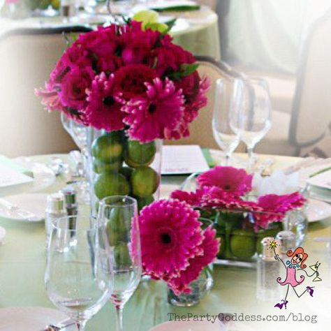 We're talkin' table decor! The Party Goddess shares a variety of wedding table decorations that impressed her brides! You'll want to see this! #weddingplanner #partyplanner #decor #wedding #inspiration