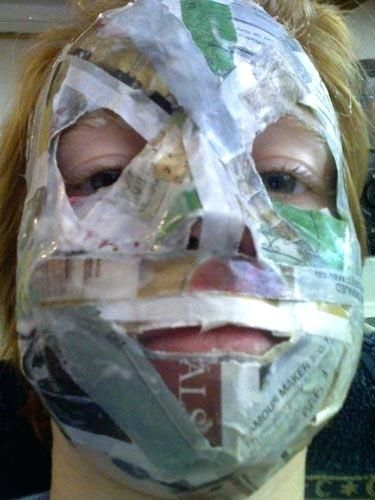 Gleaming Paper Mache Masks Images Beautiful