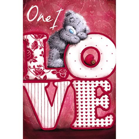 One I Love Me to You Bear Valentine