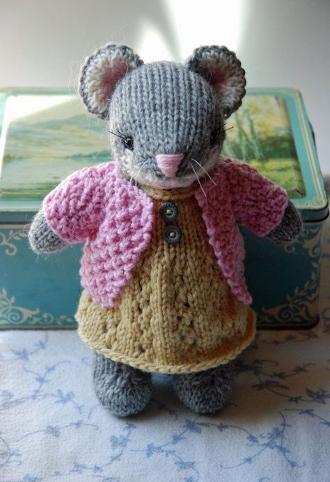 Knitting Pattern Jouet kangourou et Joey 22 11 cm Tall 68