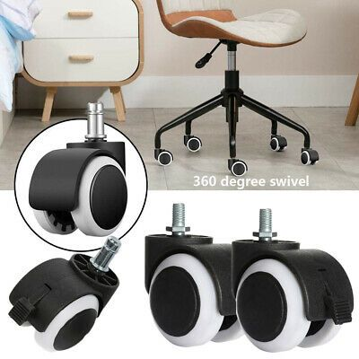 Details About Office Tool Non Slip Chair Universal Castor Caster