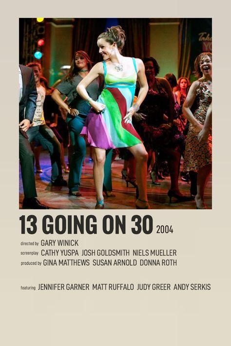 13 going on 30 polaroid movie poster