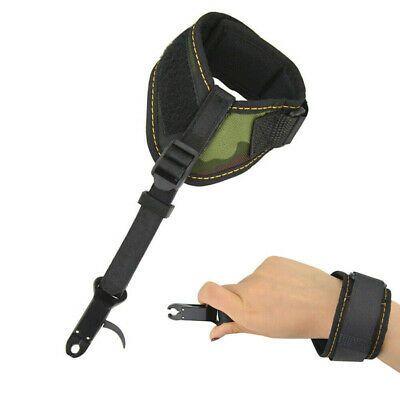 Compound Bow Archery Release Aid Archery Trigger Shoot w//Adjustable Wrist Strap