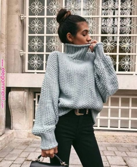 Pin by qunel.com on style & beauty inspiration in 2019 | Pinterest | Fashion, Sweater outfits and Fashion outfits