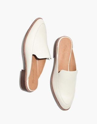 The Frances Loafer Mule in Leather in