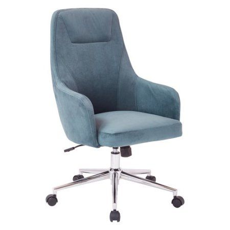Marigold Desk Chair Walmart Com Upholstered Desk Chair Osp Home Furnishings Comfy Office Chair