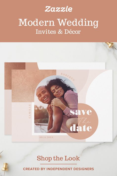 Modern Boho Wedding - Zazzle