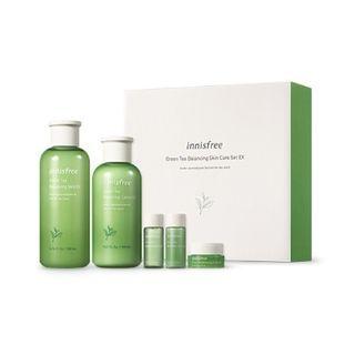 Innisfree Green Tea Balancing Skin Care Set Ex Yesstyle Skin Care Solutions Skincare Set Skin Balancing