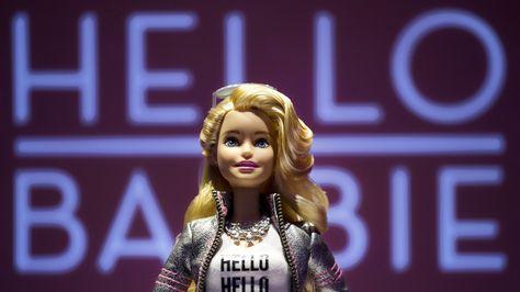 "Hello Barbie // Wi-Fi ""smart doll"""