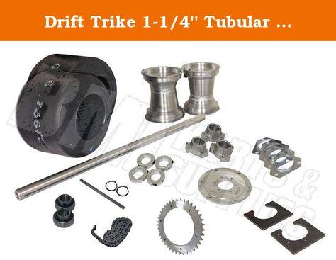 "Set For Off Road Go Kart Drift Trike Mini Bike Parts 1-1//4/"" Bearing Kit 3 Hole"