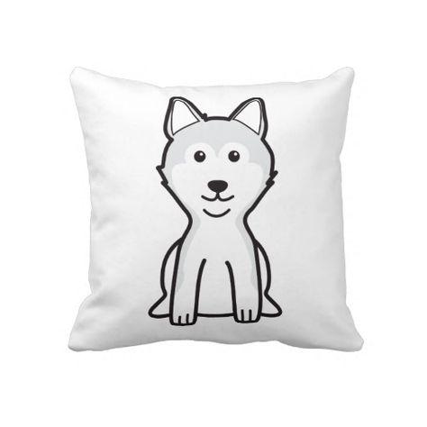 Shiba Inu Dog Cartoon Throw Pillow Shiba Dog And Animal - Three shiba inus stick their heads through wall to greet passers by