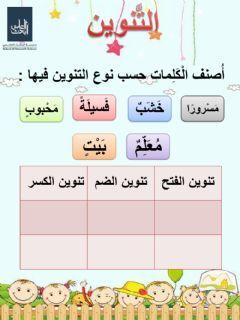 اللغة العربية Language Arabic Grade Level الصف الأول الابتدائي School Subject التع Alphabet Worksheets Preschool English Activities For Kids Online Workouts