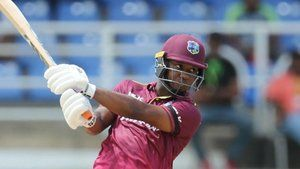 Evin Lewis century leads West Indies to a 5 wicket win and whitewash Ireland