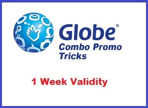 Cheapest 1 Week 7 Days Globe Gosakto Combo Promos Combo Globe Day