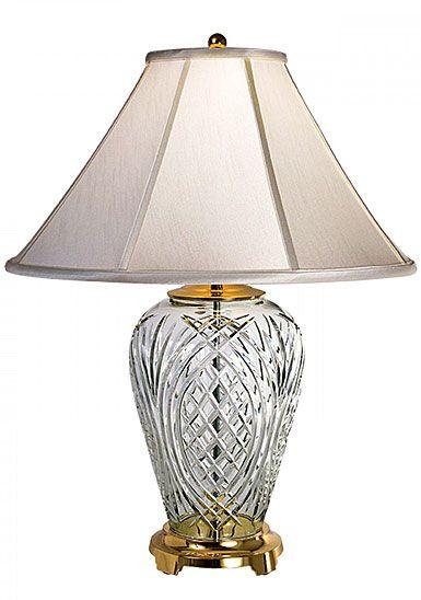 Waterford Crystal Kilkenny 29 Crystal Lamp Crystal Lamp Waterford Lamp Lamp