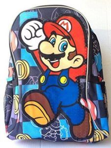 e90f07d5ec New Mario Bros Large Backpack Mario Room, Boys Backpacks, Super Mario,  Backpacks