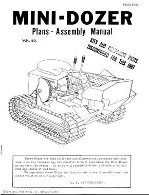 Md 40 45 Plans Assembly Manual Belt Mechanical Screw How To Plan Manual Electrical Circuit Diagram