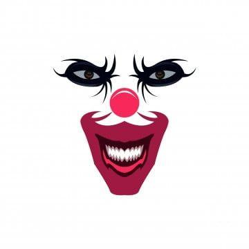 Palhaco Vector Imagem Ilustracao Rosto Sorriso Imagem Png E Vetor Para Download Gratuito Clown Faces Face Images Scary Clown Face