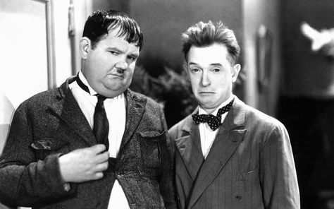 Image result for comedian laurel and hardy