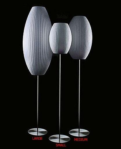 Modernica Cigar Lotus Floor Lamp By George Nelson Lamp Floor Lamp Beautiful Furniture